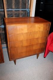 Mid-century modern chest-of-drawers - also matching dresser with mirror