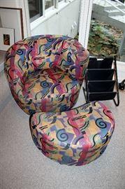 Nouveau classics - 2 chairs and 1 ottoman