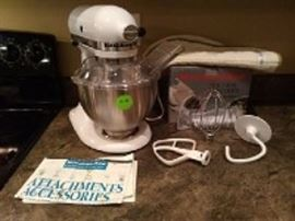KitchenAid with Attachments