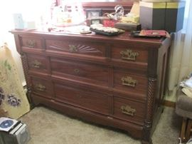 dresser matches the bed & tall chest