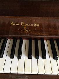Behr Bros & Co Baby Grand Piano