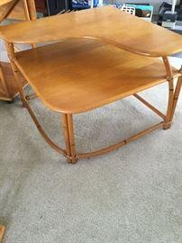 Hey wood Wakefield Mid-Century Corner Table