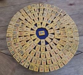 Custom made Mahjong Tile Lazy Susan