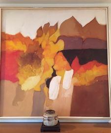 Robert Lawson oil on canvas