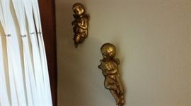 cherub plaques