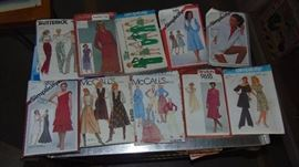 huge lot of sewing patterns
