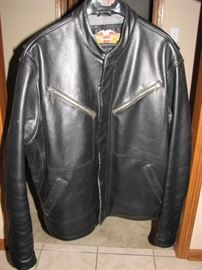 Heavy 2XL Harley Davidson Leather Jacket