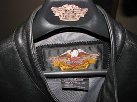 Heavy 2XL Harley Davidson Jacket - Leather