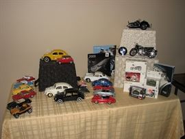 Die Cast Model Cars - Franklin Mint