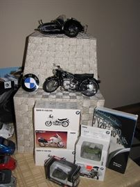 Die Cast Model Cars & Car w/ Motorcycle - Franklin Mint