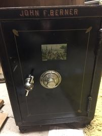 Antique Vulcan & Co. hall safe