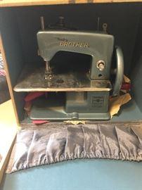 Miniature sewing machines