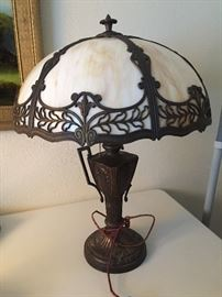 Stunning slag lamp