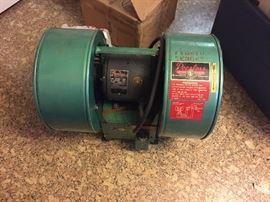 Vintage Peerless exhaust fan