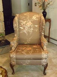 Drexel Heritage Wing Back Chair EXC