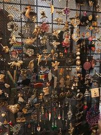 Brooch, Earrings, Lapel Pins