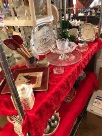 Christmas Glass ware