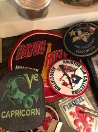 Gun collectors patches