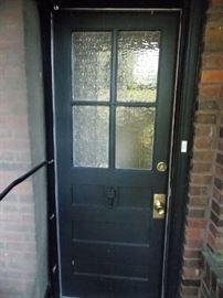 Storm Door entry door