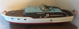 Large Chris Craft Model Boat