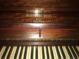 1904 Steinway & Sons Upright Piano