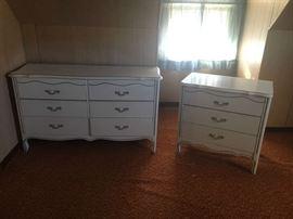 White Dressers