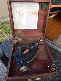 Stadimeter Sextant Type Instrument