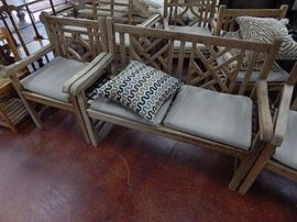 Teak Benches & Chairs