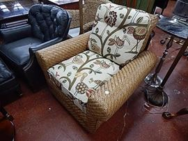 Made for Herman Home Woven Reed  Chair