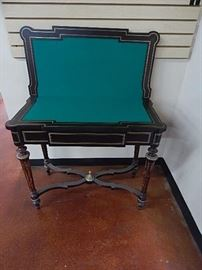 19th C. Continental Game Table