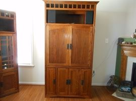 Mission Style TV or Storage Armoire
