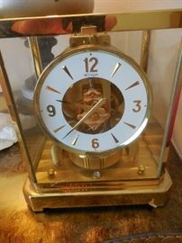 Vintage Le Coultre Atmos Clock August 8,1969. Working
