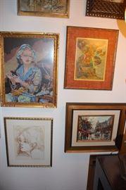 Assorted Framed Art