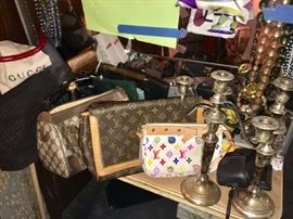 Designer Handbags and more