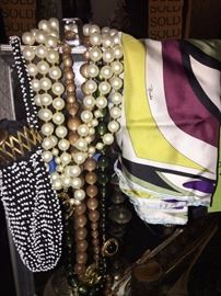 Jewelry and Scarves