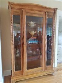 Art Nouveau Cabinet by Francis Marjorelle