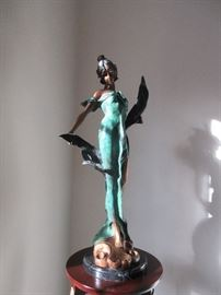 Beautiful bronze by C Rossi