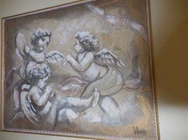 Original Oil Painting, Signed.