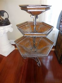 Walter E Smith 3 Tier Entertaining/Serving Stand