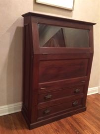 Antique printmaker cabinet