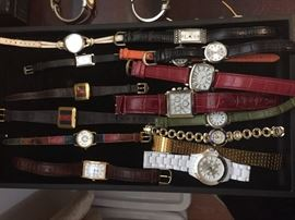 Huge watch collection.  Women and Men