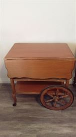 Tea Cart with Tray