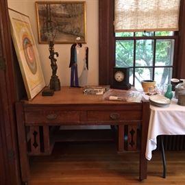 Chagall Print and George Broadhead Pastel