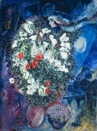 LOT 899 MARC CHAGALL Oil Painting