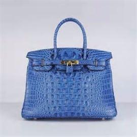 LOT 718 Hermes Birkin Crocodile Bag