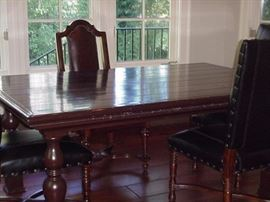 Another view of the farm table