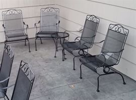 Patio all chairs
