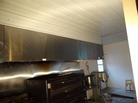 12' Commercial Kitchen Fully Stainless Exhaust Hood