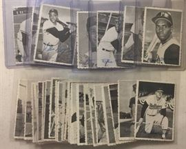 1969 Topps Deckle Edge Complete Insert Baseball Card Set All 33 Cards with Willie Mays, Clemente,   Rose, Yaz, Gibson, & More