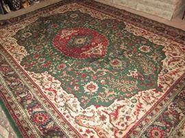 8'x11' wool oriental rug
